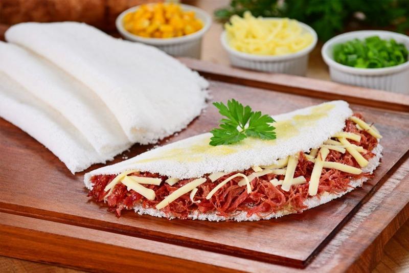 Dry Beef Tapioca
